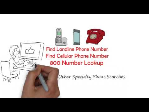 Find Phone Number by Address