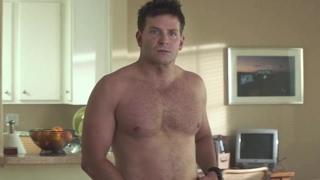 Bradley Cooper shirtless scenes [American Sniper (2014)]