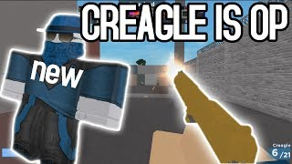 NEW Arsenal Creagle Gun and SKIN CODE   ROBLOX