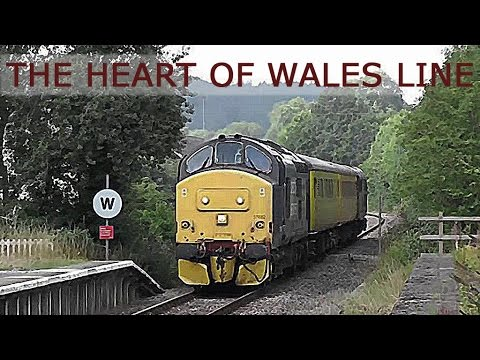 TRAINS Diesels on The Heart of Wales Line