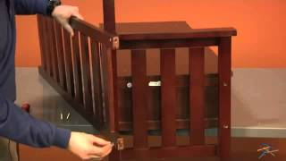 Assembly Video Raven Storage Bench - Wenge Dark Wood