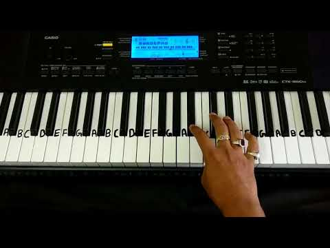 Dilbar Dilbar on Keyboard | Tutorial | Slowly Played | Satyamev Jayate | Casio 860IN