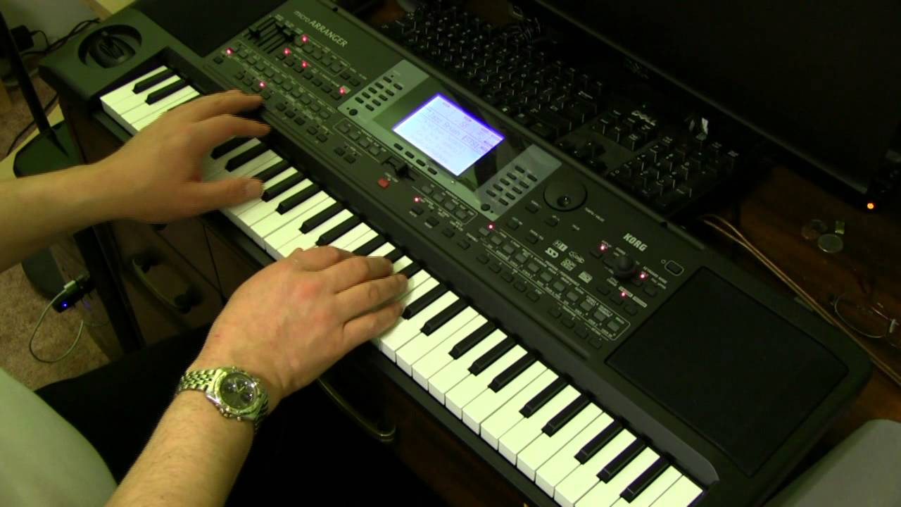 korg microarranger left hand bass and piano demo youtube. Black Bedroom Furniture Sets. Home Design Ideas