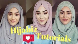 لفات حجاب سهلة وبسيطة للمدرسة والجامعة - الجزء الثاني