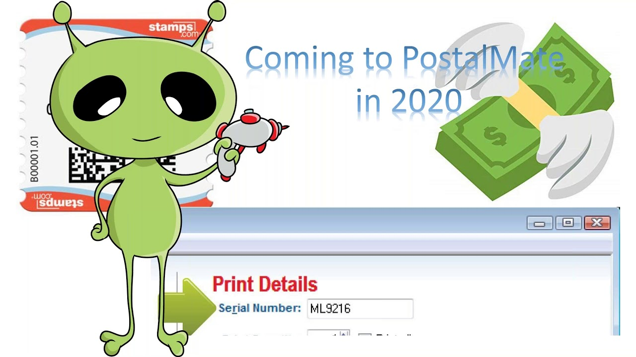 Endicia DYMO NetStamps News for PostalMate Stores