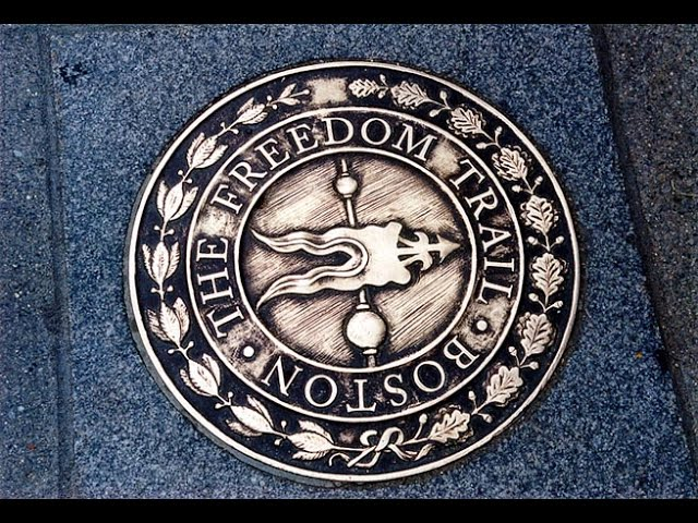 download freedom trail map