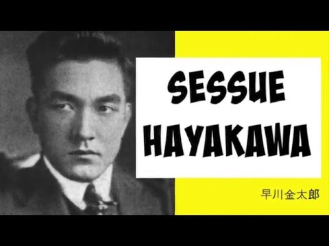 SESSUE HAYAKAWA Hollywood's FIRST Male Icon  The Bamboo Ceiling