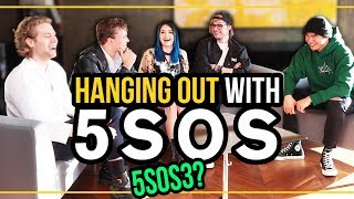 REVERSE SONG CHALLENGE with 5 SECONDS OF SUMMER & 5SOS talk NEW ALBUM! 🙏🏻