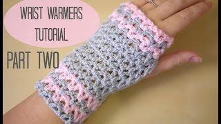 CROCHET: Wrist warmers PART TWO | Bella Coco