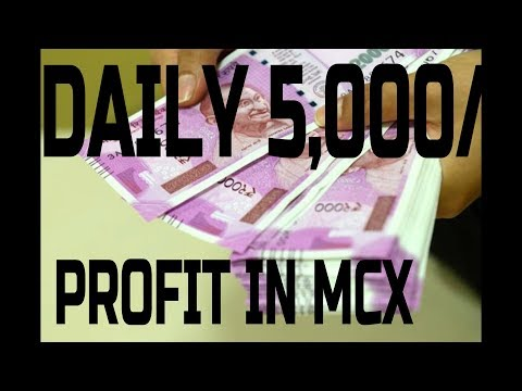 MCX Zinc se profit bahot easily. 4000 profit live dekhiye. Analysis is my first priority.Mohit Gupta