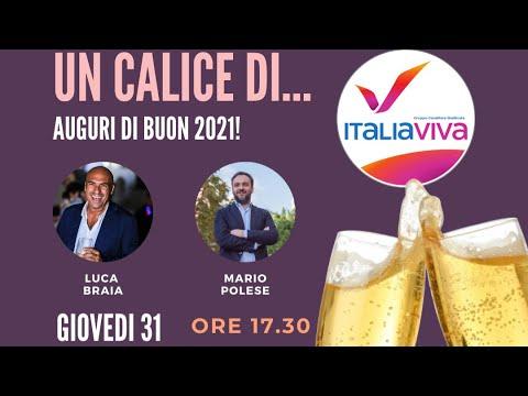AUGURI DI BUON 2021 DEL GRUPPO ITALIA VIVA REGIONA...
