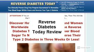 Reverse Diabetes Today Review | Is Reverse Diabetes Today Good?