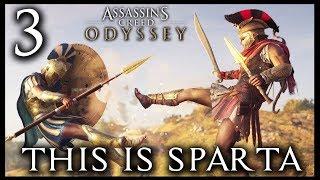 SPARTAŃSKI KOPNIAK!!  ASSASSINS CREED ODYSSEY PL E03 ⚱️