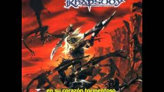 Dargor, Shadowlord of the Black Mountain (extended version) - Subtitulos Español [Rhapsody]