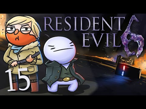 Resident Evil 6 /w Cry! [Part 15] - Jake and Sherry