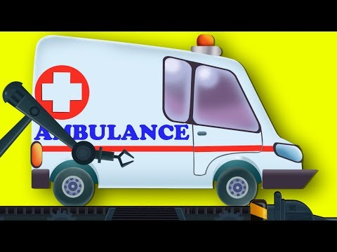 Ambulance | Toy Factory | Car Cartoons | Kids Channel Video For Children | Baby Vehicle