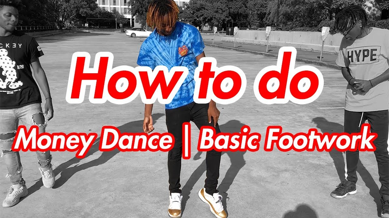 How to Money Dance | Basic Footwork | Forward Shuffle (Official Dance Tutorial)