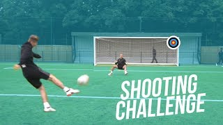 SHOOTING CHALLENGE & FILMING WITH OLLY MURS!