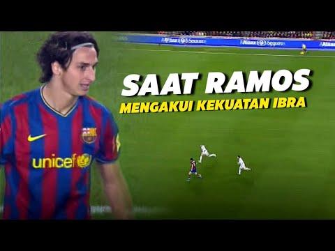 """""""Dia Memiliki Badan Yang Terlalu Besar"""" Inilah Hari Dimana Ibrahimovic Membuat Ramos Ketakutan"""