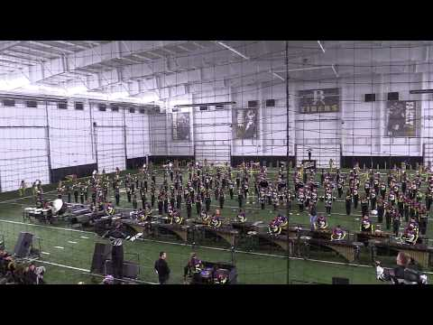 Pride of broken arrow 2017 OBA encore  INDOOR PRATICE FIELD *LOUD*