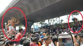 Lalbaug Cha Raja and Mumbai Cha Raja Great Bhet - Mumbai Ganpati Visarjan 2018