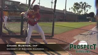 Chase Bushor Prospect Video, Inf, University of Southern California
