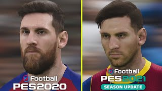 eFootball PES 2021 vs PES 2020…