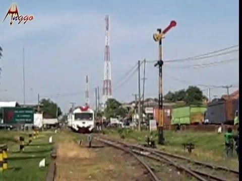 """Kereta """"Kelinci"""" Wijayakusuma Inspeksi ke Stasiun Cigading"""
