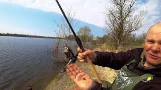 Как ловят ЛЕЩА на ФИДЕР в Брянске #Орлик3 #Весна2018