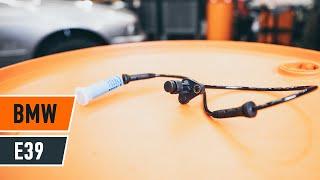 Πώς και πότε αλλαγη Σύστημα ελέγχου δυναμικής κίνησης BMW 5 Touring (E39): εγχειριδιο βίντεο