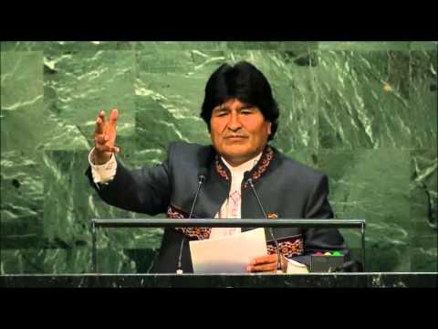 Bolivia President: Evo Morales Full Speech at the UN (English)- 28th September, 2015