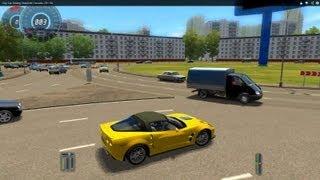 City Car Driving Chevrolet Corvette ZR1 HD