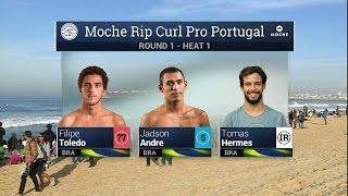 Moche Rip Curl Pro Portugal: R1, H1 Recap
