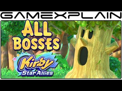Kirby Star Allies - All Boss Fights