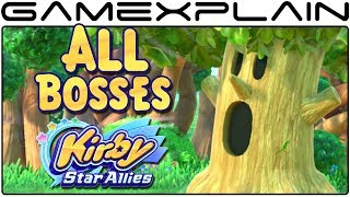 Kirby Star Allies - All Boss Fights