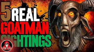 5 Real Sightings of the Goatman - Darkness Prevails