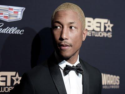 Pharrell Williams Surprises at Grand Ole Opry