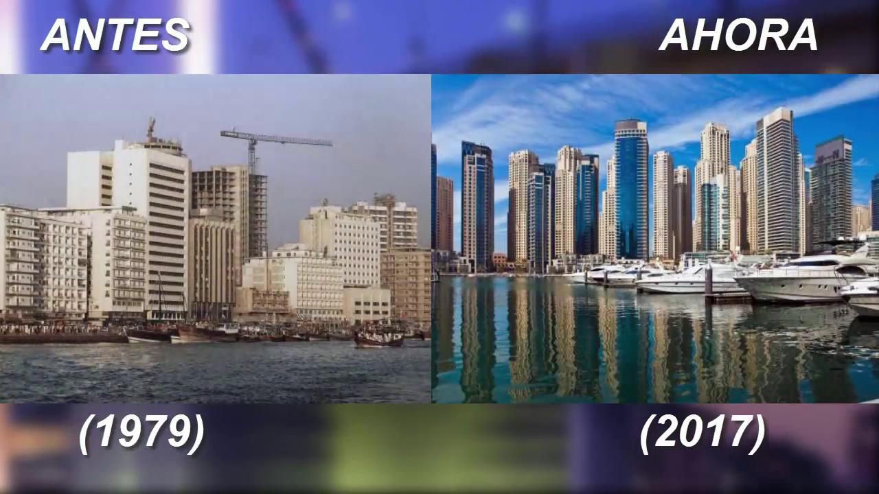 Ciudad de dubai antes y despues de adelgazar