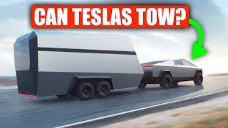 Why Teslas Are Bad At Towing (Today)