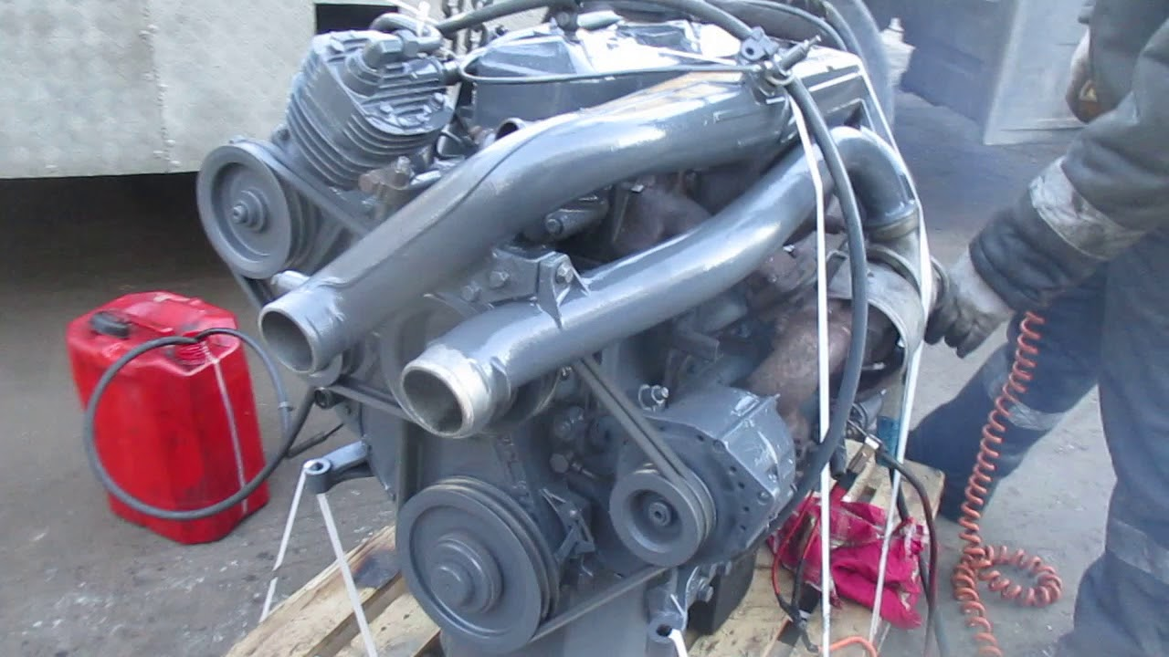 Двигатель 364 LA Мерседес 814
