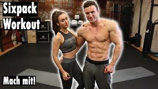 10 Minuten Sixpack Workout | EXTREM - Schaffst du es?