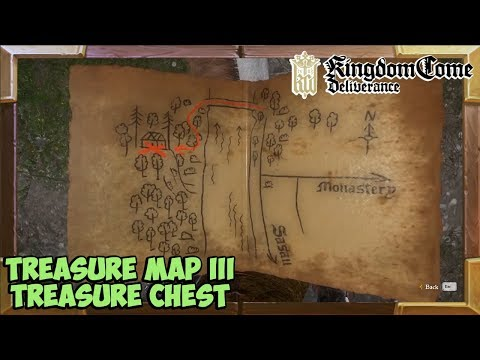 Kingdom Come Deliverance Treasure Map 3 Treasure Location