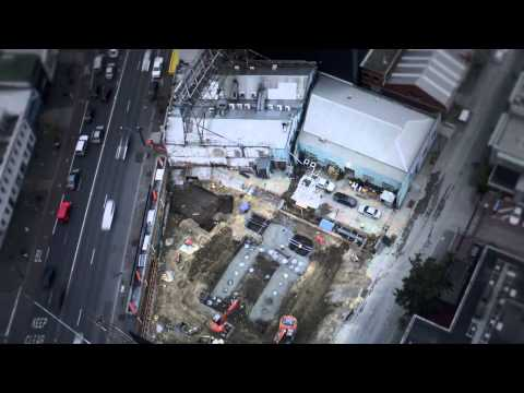 Platinum Tower Construction Update Feb-Sep 2014