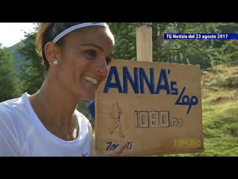 Servizio TG - Anna's Lap, 1080 metri dedicati ad Anna Incerti