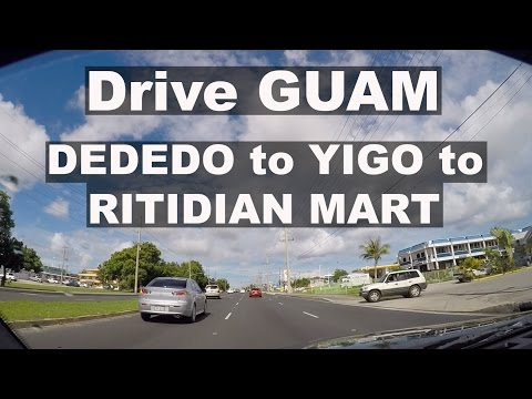 Drive GUAM #26 - Dededo Winchell's / Yigo / Ritidian Mart.