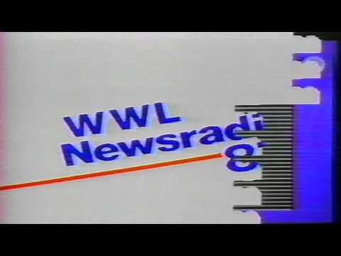 WWL News Radio 87 - WWL-TV New Orleans 1985 Promo