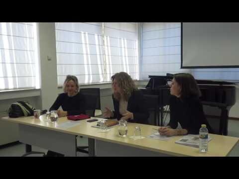 """Conferencia """"Genios sin género"""" Impartida por Sophia Hase (pianista) y Franziska Münz."""