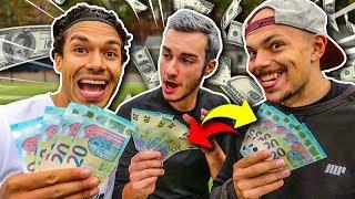 HEFTIGE GELD FUßBALL CHALLENGE!! (300€)