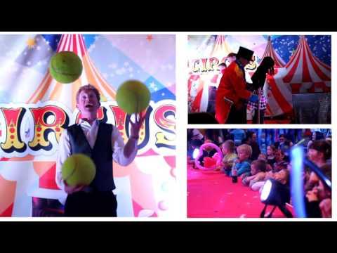 Cuisine De France  Circus Themed Christmas Party 2012