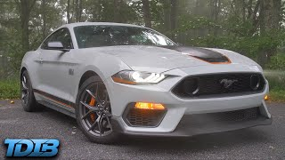 """homepage tile video photo for The 2021 Mustang Mach 1 is """"Just"""" a New Boss 302"""